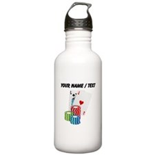 Custom Blackjack Sports Water Bottle