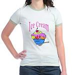 Ice Cream Jr. Ringer T-Shirt