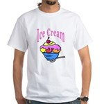 Ice Cream White T-Shirt