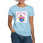 Ice Cream Women's Pink T-Shirt