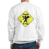Cthulhu Crossing! (2-Sided) Sweatshirt