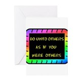 DO UNTO OTHERS Greeting Cards (Pk of 10)