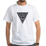 New Jersey State Police White T-Shirt