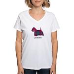 Terrier - Chisholm Women's V-Neck T-Shirt