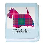 Terrier - Chisholm baby blanket