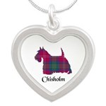Terrier - Chisholm Silver Heart Necklace