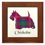 Terrier - Chisholm Framed Tile
