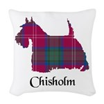 Terrier - Chisholm Woven Throw Pillow