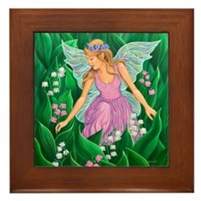Spring Fairy Framed Tile