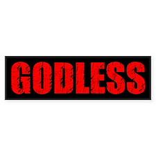 Godless Bumper Bumper Sticker