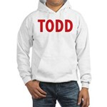 Todd Theatre Hooded Sweatshirt