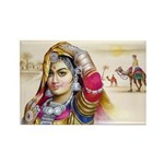 Banjara Beauty Rectangle Magnets (10 pack)