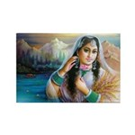 Kashmiri Bride Rectangle Magnets (10 pack)