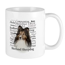 Sheltie Traits Coffee Mugs