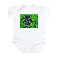 """""""Mystery"""" Fractal Art Infant Bodysuit"""