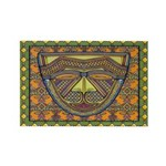 African Mask Rectangle Magnets (10 pack)