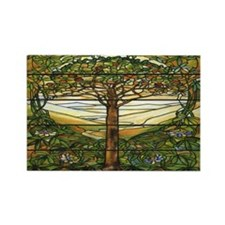Tiffany Landscape Rectangle Magnets (10 pack)