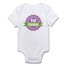 1st Easter Label for baby Infant Bodysuit