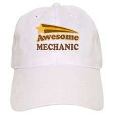 Awesome Mechanic Baseball Cap