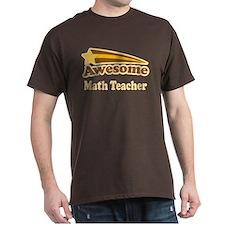 Awesome Math Teacher T-Shirt