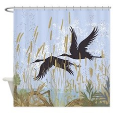 Wild Birds Shower Curtain