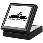 Row Row Row Your Boat Keepsake Box
