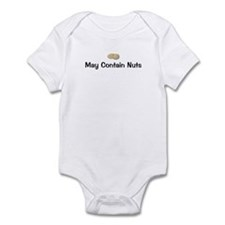 May Contain Nuts Infant Bodysuit