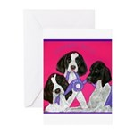 GSP Puppies Rule Greeting Cards (Pk of 10)