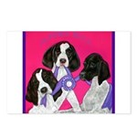 GSP Puppies Rule Postcards (Package of 8)
