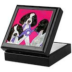 GSP Puppies Rule Keepsake Box