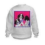 GSP Puppies Rule Kids Sweatshirt