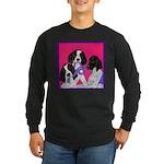 GSP Puppies Rule Long Sleeve Dark T-Shirt