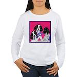 GSP Puppies Rule Women's Long Sleeve T-Shirt