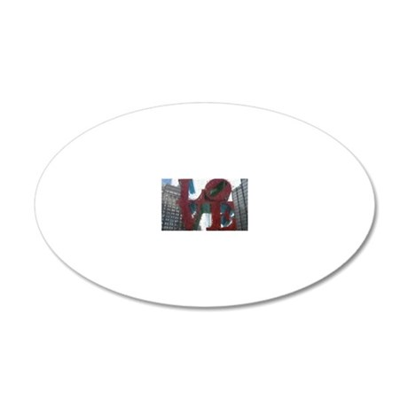 All You Need Is Love 20x12 Oval Wall Decal