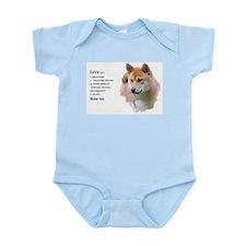 Shiba Inu Love Infant Bodysuit
