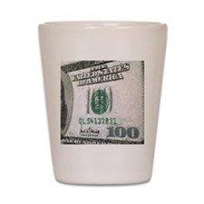 All About The Benjamins Shot Glass