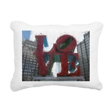 All You Need Is Love Rectangular Canvas Pillow