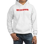 Dare to be Different Hooded Sweatshirt