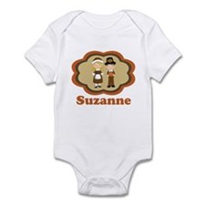 Personalized Pilgrim Kids Infant Bodysuit