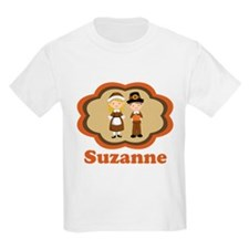 Personalized Pilgrim Kids T-Shirt