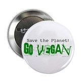 Go Vegan! Button