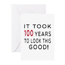 It Took 100 Birthday Designs Greeting Cards (Pk of