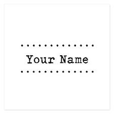 Custom Name Invitations