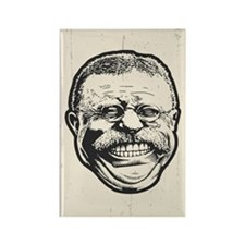 Teddy Grin Rectangle Magnet (10 pack)