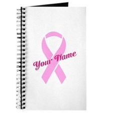 Custom Pink Ribbon Journal