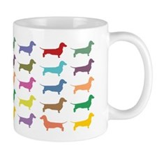Dachshunds, Dachshunds, Dachs Small Mug
