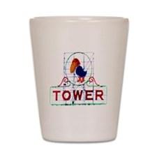 The Jayhawk Shot Glass
