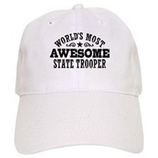 World's Most Awesome State Trooper Baseball Cap