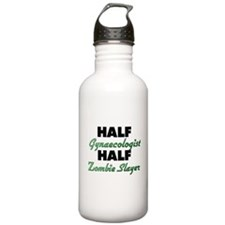 Half Gynaecologist Half Zombie Slayer Water Bottle