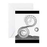 Twisted Wheel Greeting Cards (Pk of 10)